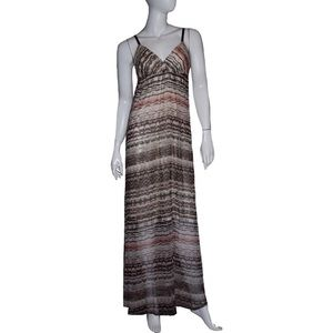 Gypsy 05 Maxi Dress NWT Sz Small Beige Multicolor